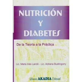NUTRICIÓN Y DIABETES. De la teoría a la práctica