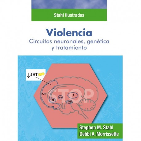 STAHL ILUSTRADOS. VIOLENCIA. Circuitos neuronales, genética y tratamiento