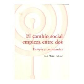 EL CAMBIO SOCIAL EMPIEZA ENTRE DOS