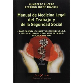 Manual De Medicina Legal Del Trabajo Y Seguridad Social