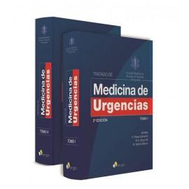TRATADO DE  MEDICINA DE URGENCIAS 2 EDICIÓN. 2 TOMOS