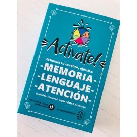 ACTIVATE! Estimula tu cerebro, ejercita: memoria, lenguaje y atención