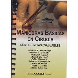 MANIOBRAS BÁSICAS EN CIRUGÍA. Competencias evaluables.