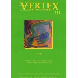 """VERTEX. Revista de Psiquiatría 111 """"DOLOR"""""""