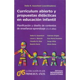 CURRÍCULUM ABIERTO Y PROPUESTAS DIDÁCTICAS EN EDUCACIÓN INFANTIL
