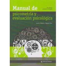 MANUAL DE PSICOMETRÍA Y EVALUACIÓN PSICOLÓGICA.  2ª edición ampliada y corregida